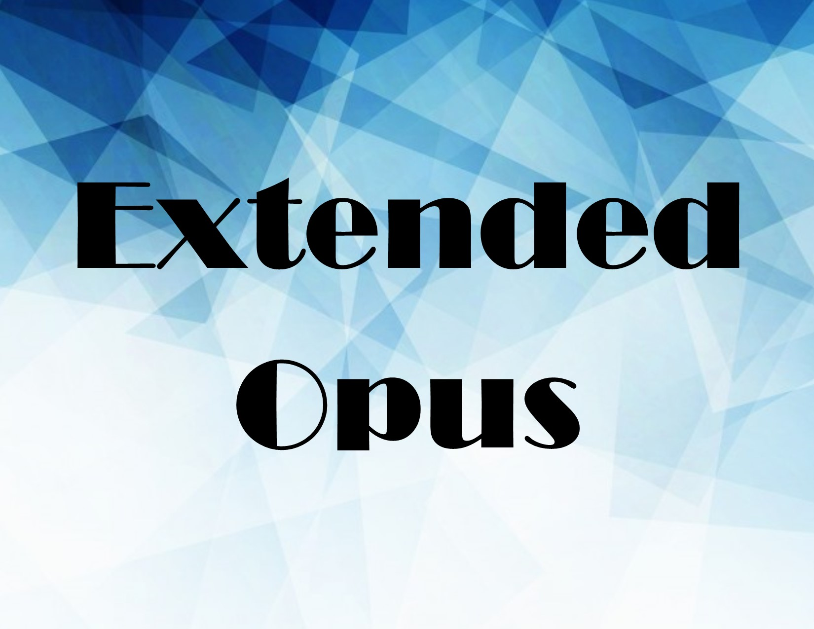 extended Opus image